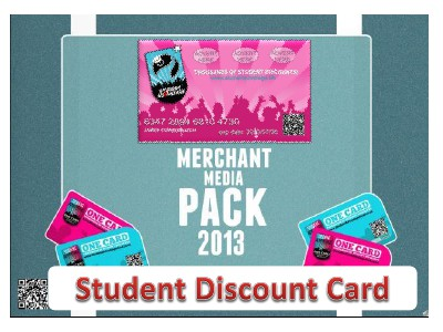 Student Discount Card volume 1