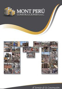 Brochure 2014 Mont Perú Construcciones