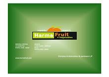 Harma Fruit 2013