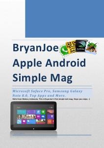 BryanJoe Apple Android January 2013