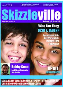 Skizzleville Online Magazine Vol. 1 Issue 01