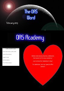 The OAS Word - February  2013