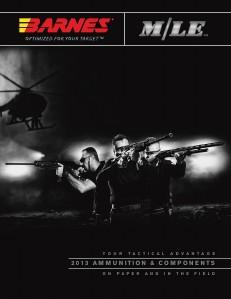 Barnes Bullets 2013 M/LE Catalog