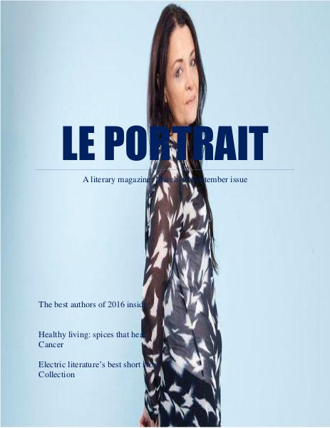 LE PORTRAIT MAGAZINE MARCH-SEPTEMBER ISSUE