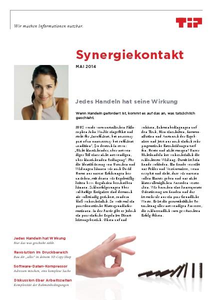 Synergiekontakt 2014 Synergiekontakt Mai 2014
