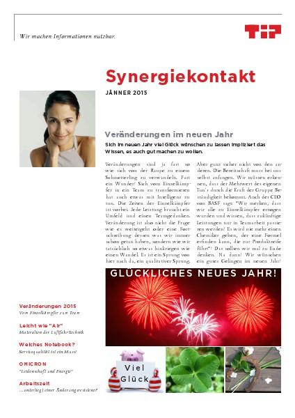 Synergiekontakt Jänner
