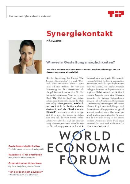 Synergiekontakt 2015 Synergiekontakt März