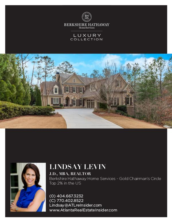 Sandy Springs Homes Your Custom Home is Already Built - Come See It