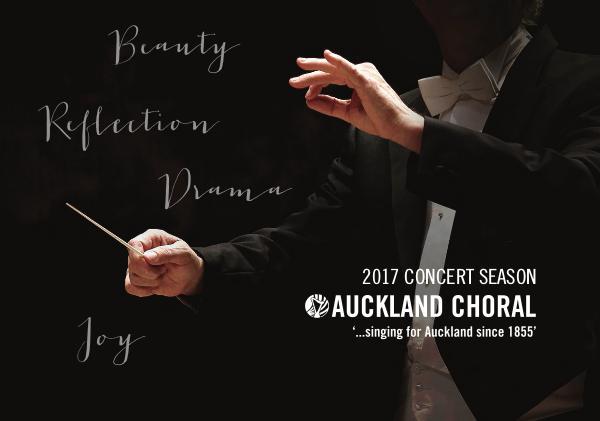 2017 Concert Series Brochure