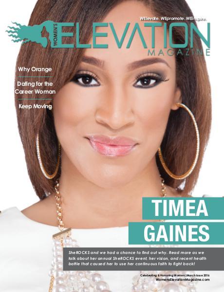 Women's Elevation Magazine March 2016