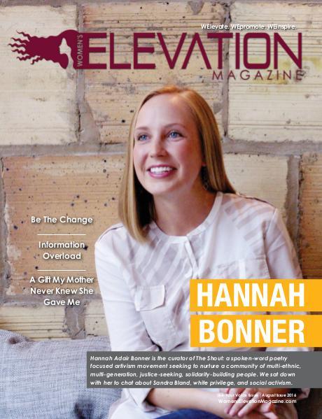 Women's Elevation Magazine August 2016