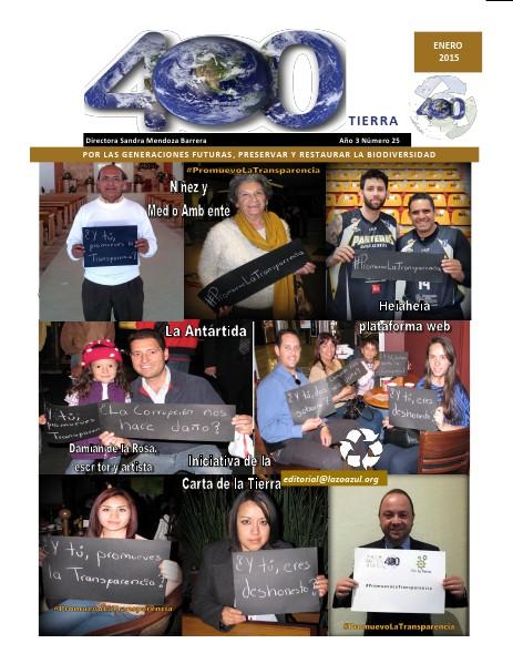 Revista 400 Número de Febrero del 2015 Revista 400 Número de Enero 2015