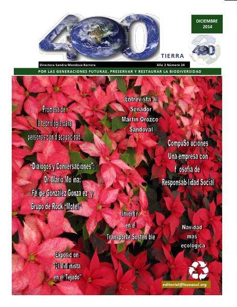 Revista 400 Número de Febrero del 2015 Revista 400 Número de Diciembre 2014
