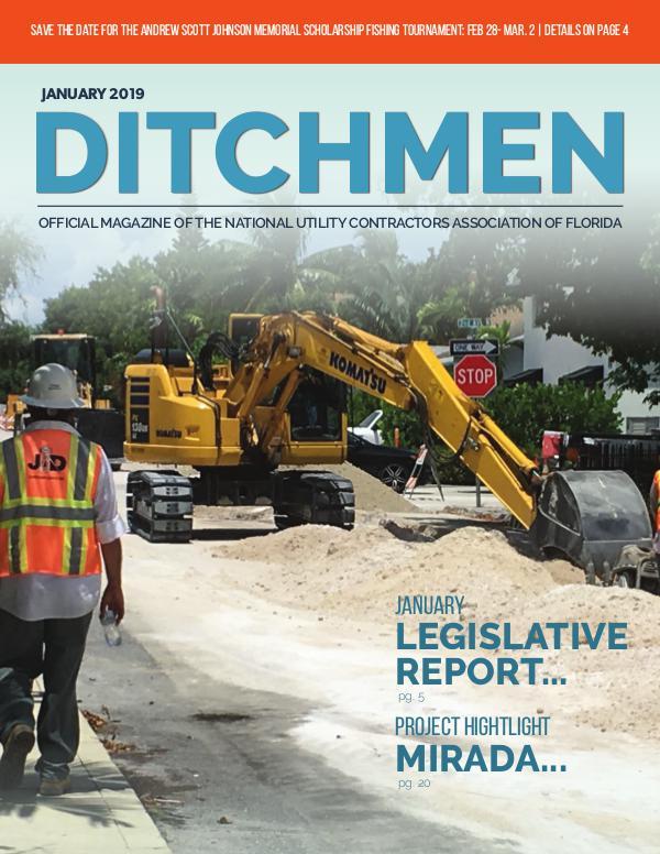 Ditchmen • NUCA of Florida January 2019