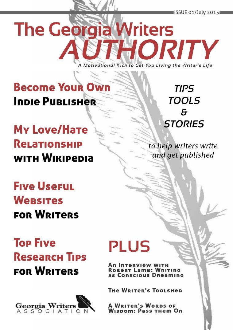 The Georgia Writers Authority - digital magazine for writers