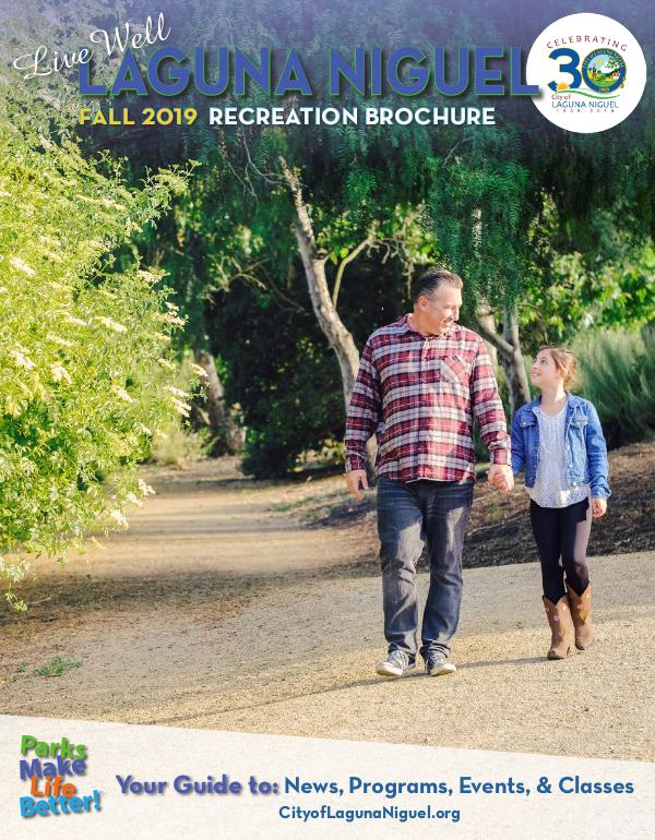 City of Laguna Niguel Recreation Brochure Fall 2019 Brochure - Final
