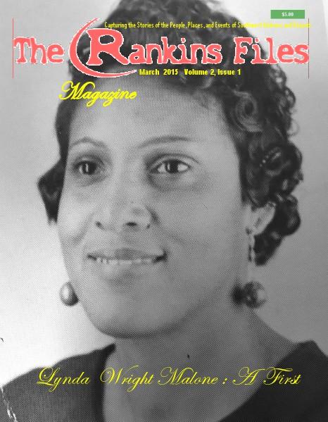 The Rankins Files Magazine Volume 2, Issue 1