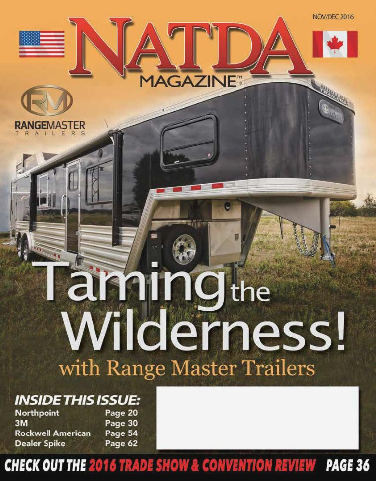 NATDA Magazine Nov/Dec 2016 Volume 9 Number 4