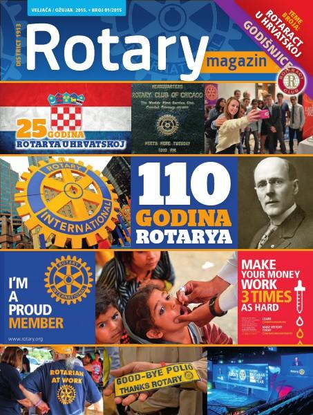 Rotari Magazin Rotary Magazin - siječanj, veljača i ožujak 2015.