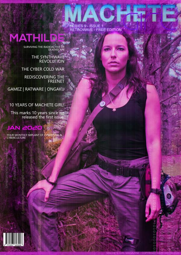 Machete Girl Magazine 9.1 Jan 2020
