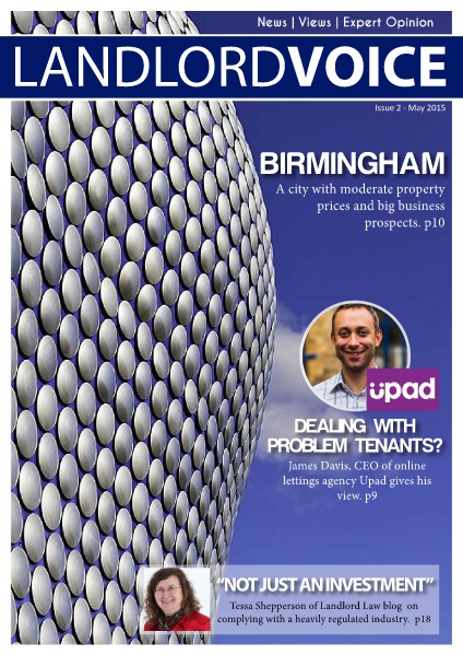 Landlord Voice Magazine May 2015 - Birmingham
