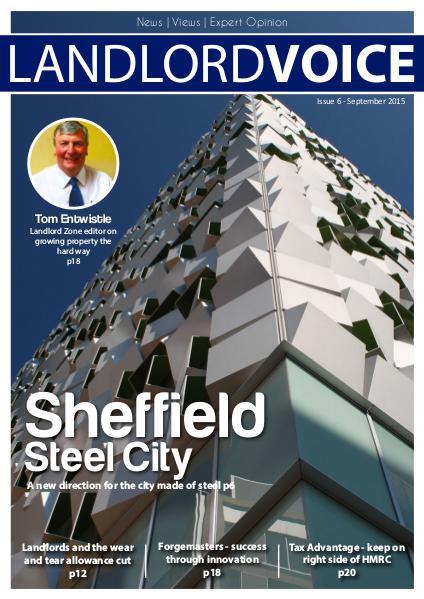 Landlord Voice Magazine September 2015 - Sheffield