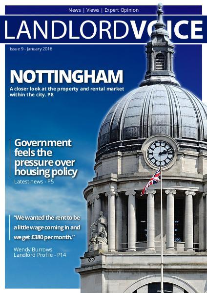 Landlord Voice Magazine January 2016 - Nottingham
