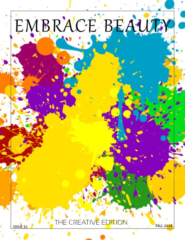 Embrace Beauty Magazine LLC issue 32 The Creative Edition