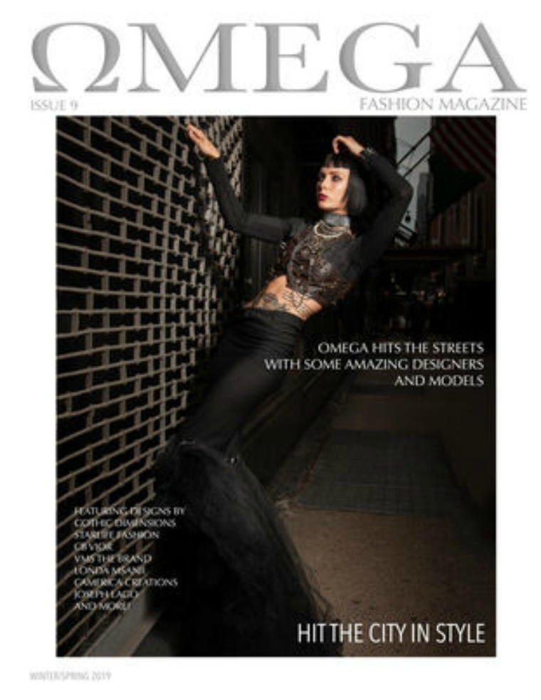 Omega Fashion Magazines Issue 8 Hit The City in Style(2nd cover)