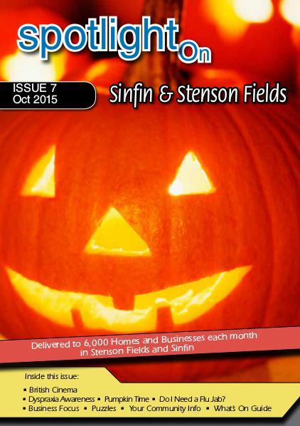 Spotlight Magazines Spotlight Magazine Sinfin & Stenson Fields Oct 15