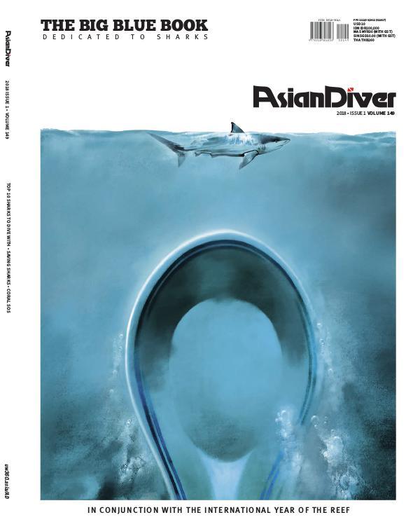 Asian Diver and Scuba Diver No. 1/2018 Volume 149