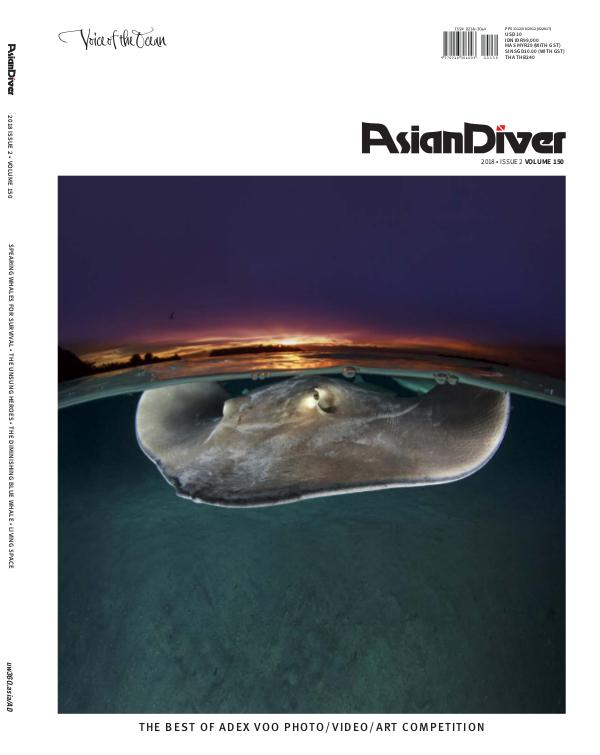 Asian Diver and Scuba Diver No. 2/2018 Volume 150