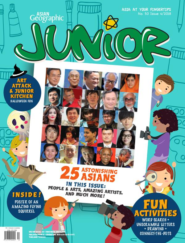 Asian Geographic Junior Issue 04/2018 No. 50