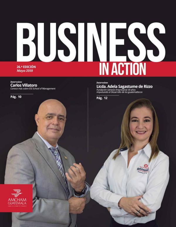 ESI Management Magazine Business In Action - AMCHAM