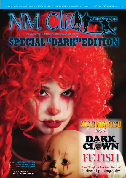NM CliQ Magazine DEC. SPECIAL DARK EDITION
