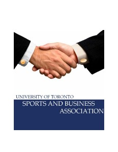University Of Toronto Sports And Business Association 1