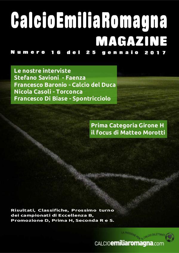 CalcioEmiliaRomagna Magazine Numero 16