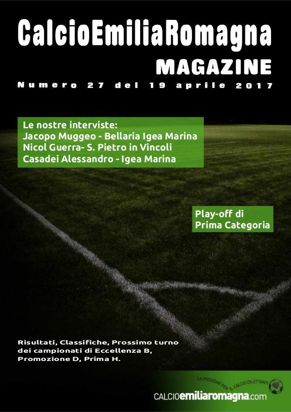 CalcioEmiliaRomagna Magazine Numero 27