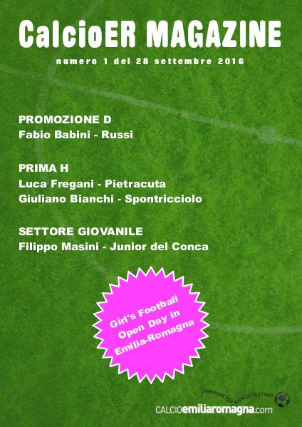 CalcioEmiliaRomagna Magazine Numero 01