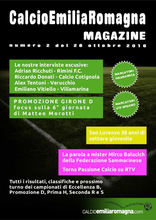 CalcioEmiliaRomagna Magazine Numero 2