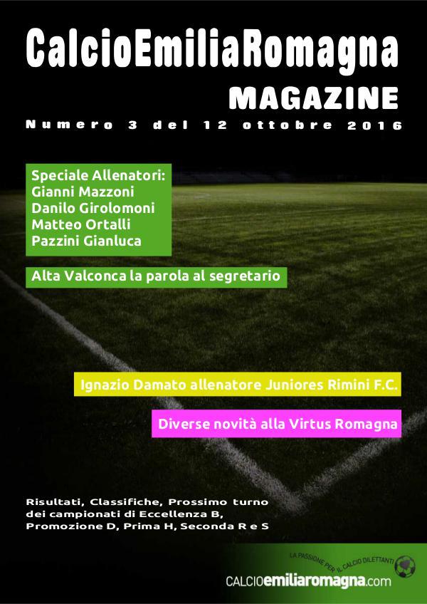 CalcioEmiliaRomagna Magazine Numero 3