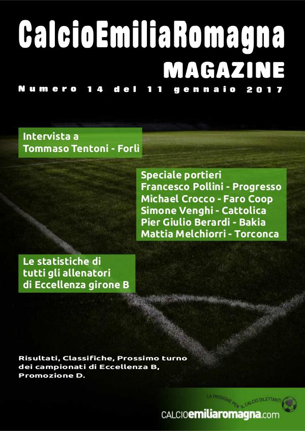 CalcioEmiliaRomagna Magazine Numero 14