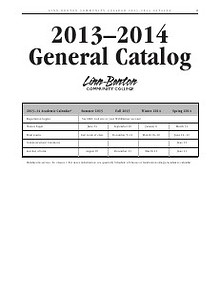 2013-14 Catalog