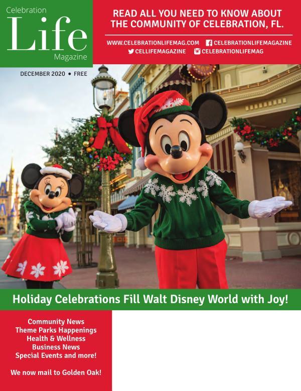 Celebration Life Magazine December 2020