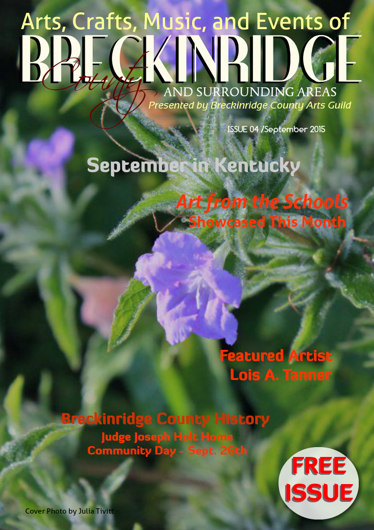Issue 4, September 2015