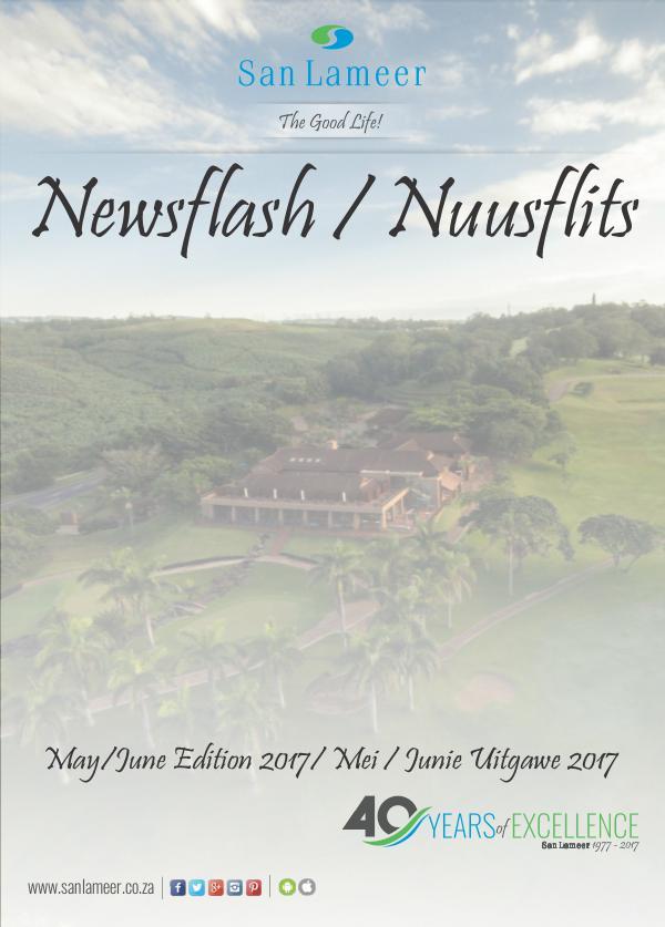 San Lameer Newsflash/Nuusflits May / June 2017