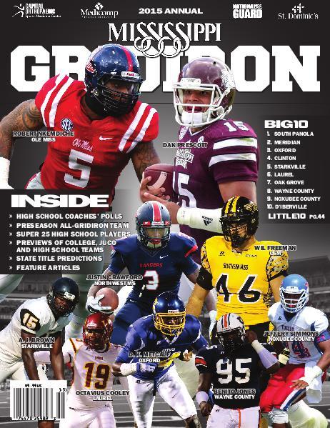 Mississippi Gridiron 2015 Annual
