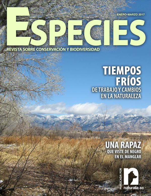 Revista Especies enero-marzo 2017 1-17