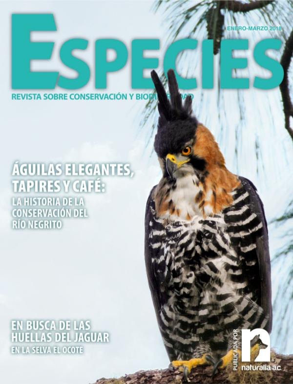 Revista Especies 1-18 ene-mar 1-18