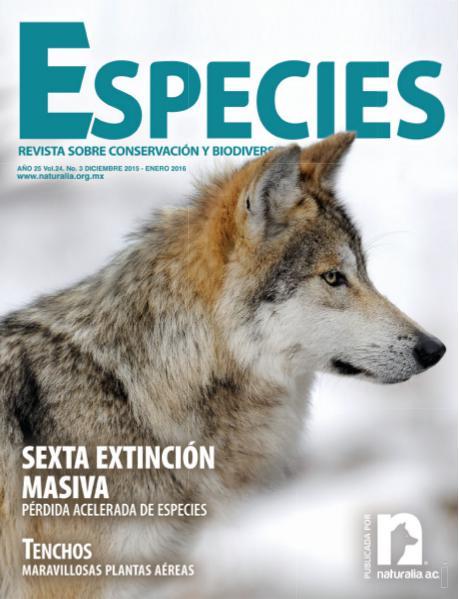 Especies 3-15 Vol. 3 No. 4